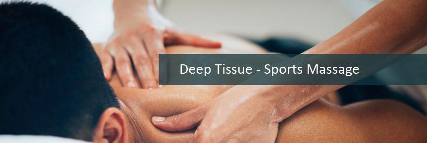 Deep Tissue - Sports Massage
