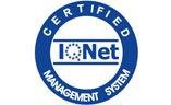 Certified Management System IQNET logo
