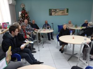 Επίσκεψη Σπουδαστών Σε Μονάδες Φροντίδας Ηλικιωμένων ΙΕΚ Master