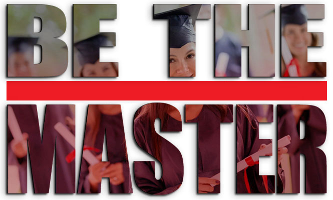 Be the master background
